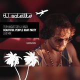 DJ SATELLITE - BOAT PARTY @ IBIZA / 15TH AUGUST 2014