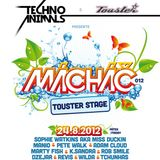 Subgate @ Techno Animals pres. Touster stage - Mácháč festival 2012