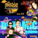 Les Envahisseurs New #2   INTERVIEW on Dynamic Radio