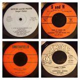 10 virginia & carolina gospel 45s #8 1/4/14