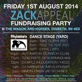 DJ Mylz - Live @ Zack Appeal Fundraising Party (Presented By Mr Elephant, Subvert & Filthybasstarts)