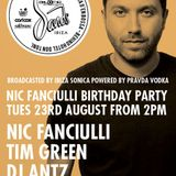 NIC FANCIULLI BIRTHDAY PARTY  by PRAVDA at SANDS part1