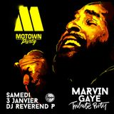 Dj Reverend P @ Motown Party, tribute to Marvin Gaye, Djoon, Saturday January 3rd 2015