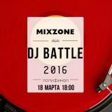 ALEX KAVE - MIXZONE DJ BATTLE 2016 (Semi-Final)