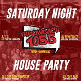 LIVE FROM THE BASEMENT - MAY 23, 2020 - THROWBACK 105.5 - SATURDAY NIGHT HOUSE PARTY