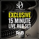 DJ SOULCHILD - 15 Minute Live R&B Set | The R&B Report, 12.12.2017