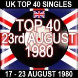 UK TOP 40: 17-23 AUGUST 1980