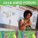 A qui appartiennent les connaissances ? AWID 2016