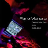 Pano Manara guest mix@Limeradio 22 November 2014