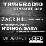 TribeRadio 032 - Zack Hill & N'Dinga Gaba