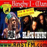 Reggae Roots Revival 18/ Steel Pulse/Black Uhuru live Rastfm radio show  Binghy i-man pon de control