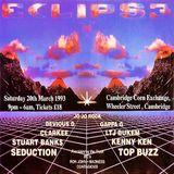 Jo Jo Rock / LTJ Bukem @ ECLIPS3 - Corn Excange Cambridge - 20.03.1993