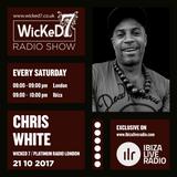 CHRIS WHITE - VINYL MIX - IBIZA LIVE RADIO - WICKED 7 RADIO SHOW 21 - 10 - 2017