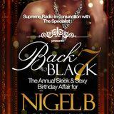 BACK II BLACK PT 7.. NIGEL B's B'DAY PROMO CD (2014)(DEEP SOULFUL HOUSE)