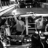Sam Lux live @ Microclimat sur le canal Saint-Martin et la Seine, 28 septembre 2016