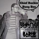 Chief Rocker Busy Bee Exclusive (WIB Rap Radio)