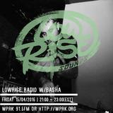 LowRise Radio w/Basha 15/04/2016