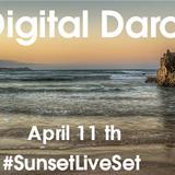 Digital Daro #SunsetLiveSet April 11th Listenig & Improvising