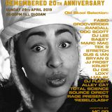 Rage presents RebelClash @ Kemistry Remembered 20th Anniversary VU 28.04.19