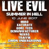 DEMANUFACTURER LIVE @ LIVE EVIL Summer in Hell June 2017