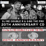 G-BO THE PRO & DJ REI DOUBLE R 20TH ANNIVERSARY CD