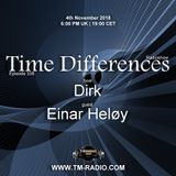 Dirk - Host Mix Part I - Time Differences 338 (4th November 2018) on TM Radio