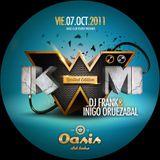 Pilar 2011 Sala Oasis - Kwm Limited Edition Dj Frank & Iñigo Oruezabal vol6