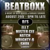 BEATBOXX 29th August 2015 - DJ Natch - Live Recording