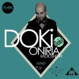 Doki - Oniria Radioshow @Nube Music * Junio 2016