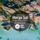 Global House Session with Marga Sol - MAGIC ISLAND [Ibiza Live Radio Dj Mix]