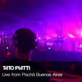 TATO PIATTI Live from Pachá Buenos Aires september