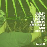 Jimmy Van M - Live at Bahrein Club, Buenos Aires, Argentina (10-03-2012)