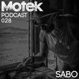 Motek Podcasts 028 - Sabo