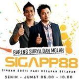 Siaran SIGAPP88 - 20 Januari 2014