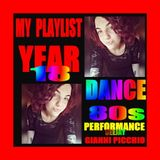 MY PLAYLIST YEAR 18 DANCE 80s PERFORMANCE MIX DEEJAY GIANNI PICCHIO