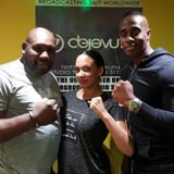 Cupids Corner show with special guest Boxing Legend Julius Francis