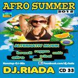 DJ.RIADA CD VOL.33 AFRO SUMMER 2015