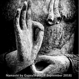 Namasté by GypsySky (29 September 2018)