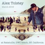 Alex Tolstey @Ratatuille Grey Whale Cove Beach, California, March 2016