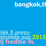 Bangkok Express Mixshop (AUG.2015) ::: DJ Freddie M.