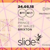 May Bank Holiday Slide w/ Dimitri from Paris @ Prince of Wales, Brixton (live set 24-05-15)