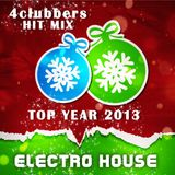 4Clubbers Hit Mix Top Year 2013 - Electro House CD2