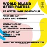 World Island 7 Hour Set @ Waterlane Boathouse supporting Jamz Supanova & JUNGLE - 27.5.2018