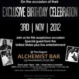 B'DAY BASH FOR GOODIE, J2 & BOOGIE @ ALCHEMIST (MISTRI 2:30 - 3:15)