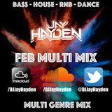 DJ Jay Hayden - Feb Multi Mix 2017 - TWITTER @DJJayHayden