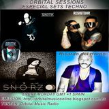 Orbital Sessions - Podcast 13 Especial Sets Techno (Ricardo Del Horno, Snorz, Sikotic , Resistohr)