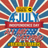 98.5 THE BEAT 4TH OF JULY MIX 4