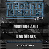 Techno  Licious Podcast @ STROM:KRAFT Radio mixed by Monique Azur