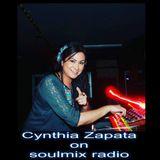 Cynthia Zapata Live on Soulmix Radio