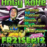 Dominik O 21 09 2012 Clubtronica @ Mikroport Club Krefeld